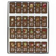 Calendrier Dominos de l'Avent en Chocolat décoré