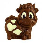 1 Mini Vache 3D Chocolat au Lait - 10 g