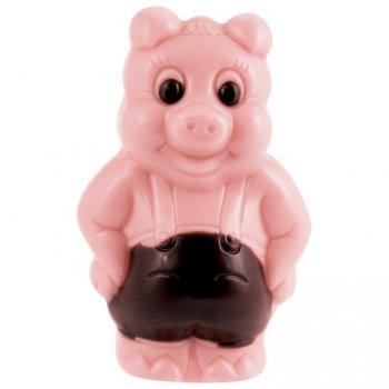 1 Cochon Chocolat Rose 3D - 17 g