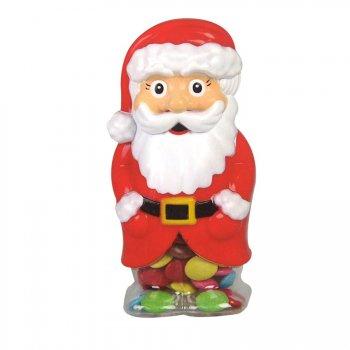 Boîte Père Noël Dragées Chocolat Lait (150 g - 15 cm)