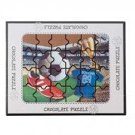 Coffret Puzzle Foot Chocolat au Lait (175 g)