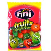 Sachet Bubble Gum Fruits  - 100 g