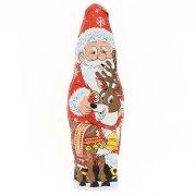 1 Père Noël  (18 cm - 60 g) - Chocolat au Lait