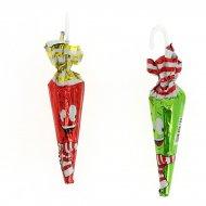 2 Parapluies de Noël en Chocolat (12 g)