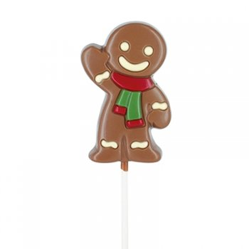 1 Sucette Chocolat Mr Gingerman (35 g)