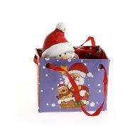 Mini Sac Cadeau Bonhomme de neige (7 cm) - Céramique