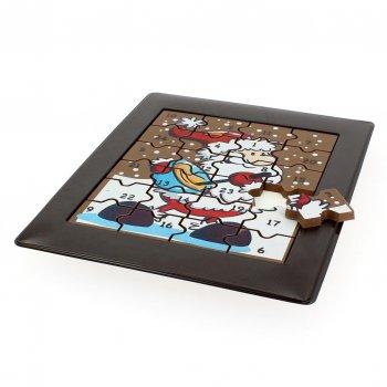 Calendrier de l Avent Puzzle en Chocolat
