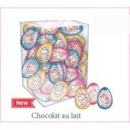 1 Oeuf Licorne (4,5 cm - 12,5 g) - Chocolat Lait