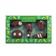 Coffret 5 Chocolats Foot 2D (100 g) - Lait