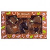 Coffret 5 Chocolats Equitation 2D (100 g) - Lait