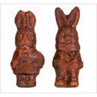 Duo de Lapins (8,5 cm) - Guimauve et Chocolat