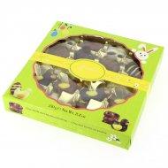 18 Chocolats Animaux et Oeufs Pâques 3D (250 g) - Chocolat praliné