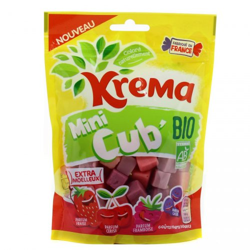 Krema Mini Cub Bio (30g) - Fruits Rouges