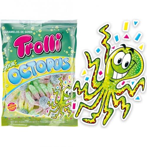 Sachet Octopus  Acide (Sans gluten) - 100 g
