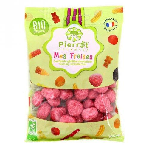 Bonbons Fraises Bio Pierrot Gourmand - 110g