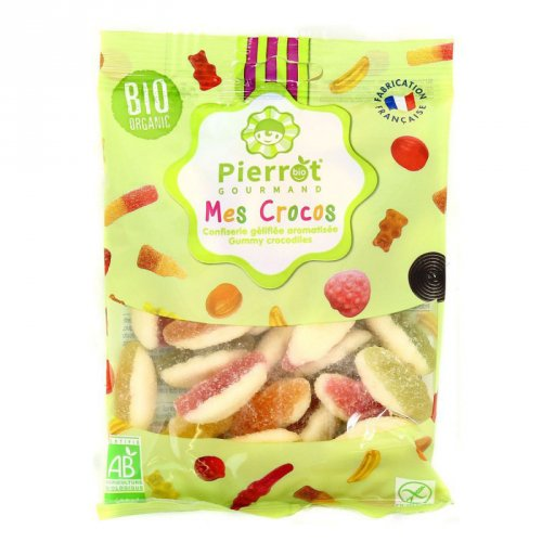 Bonbons Crocos Bio Pierrot Gourmand - 110g