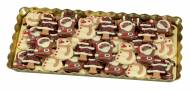 6 Figurines Noël à Plat en Chocolat au Lait
