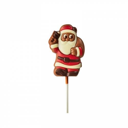 1 Sucette Père Noël Chocolat au Lait - 35g