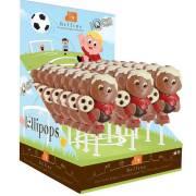 Sucette Footballeur (35g) - Chocolat au Lait