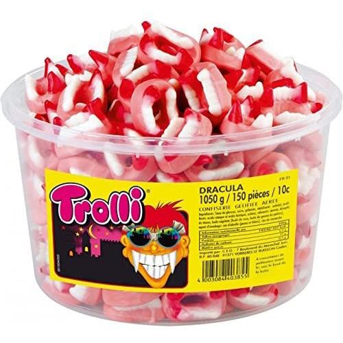 10 Bonbons Dents de Vampire