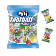 Sachet Bubble Gum Football Fini - 80 g