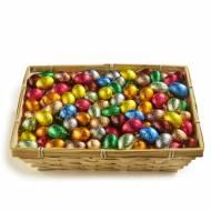 20 Petits Oeufs Pâques Alu - Chocolat