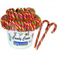 2 Candy Canes (16 cm) - Sucre