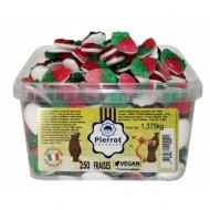 10 Bonbons Fraises - Végan
