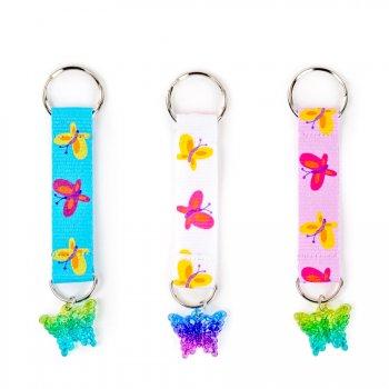 Porte-clé Papillon Rainbow