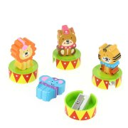 Set 1 Gomme et 1 Taille crayon Circus