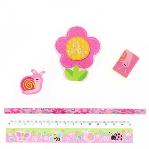 1 Set Papèterie Flower Fashion