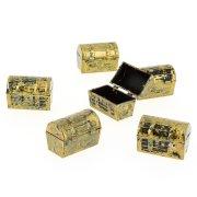 6 Mini Coffres � tr�sor