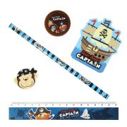 1 Set Papeterie Captain Pirate