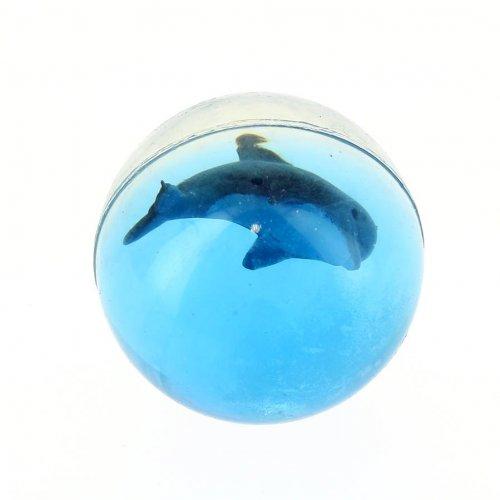 1 Balle rebondissante Dauphin (3 cm)