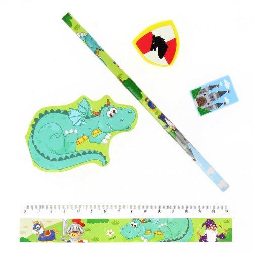 1 Set Papeterie Dragon