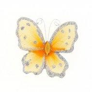 1 Broche Papillon (5,5 cm)
