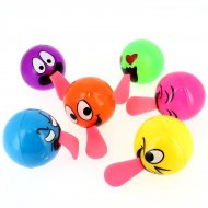 1 Balle Rebondissante Langue Maxi (6 cm)