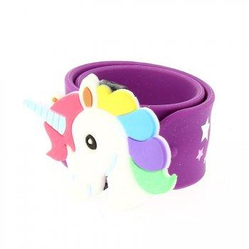 1 Bracelet Slap Licorne