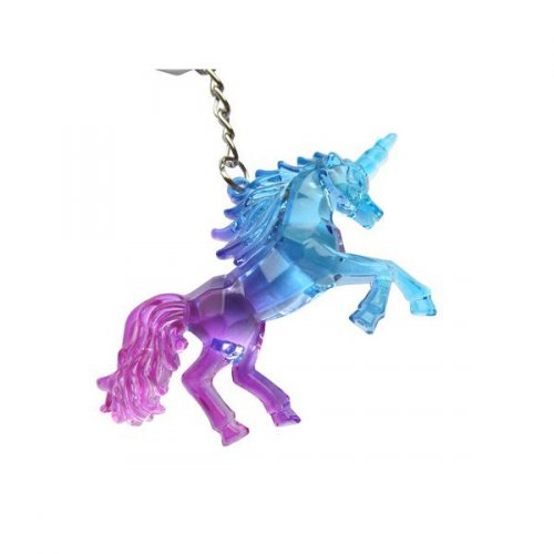 1 Porte-clés Licorne Crystal