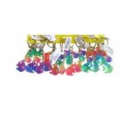 3 Porte-clés Poissons Rainbow