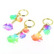 1 Porte-clés Poissons Rainbow