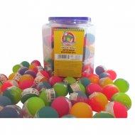 1 Balle Rebondissante Bicolore Givré