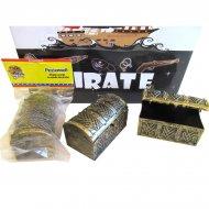 1 Mini Coffre Pirate (8 cm) - Plastique