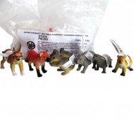 1 Figurine Animal Sauvage Canada (6 cm) - Plastique