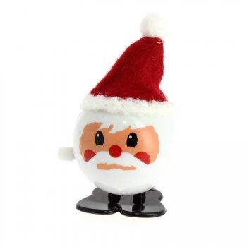 1 Père Noël Mécanique à remonter (7 cm)