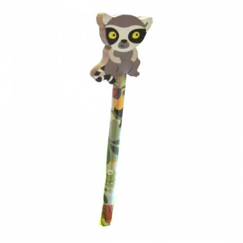 1 Crayon Gomme Maki Catta