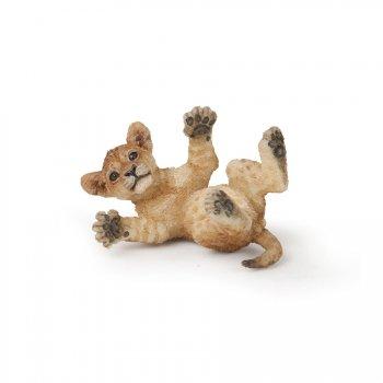 Figurine Lionceau sur le Dos
