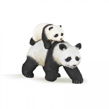 Figurine Panda et son Bébé