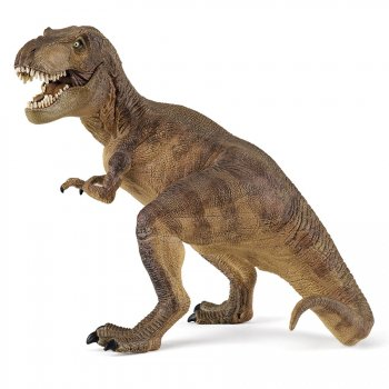 Figurine T-Rex brun