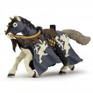 Figurine Cheval du Chevalier Noir